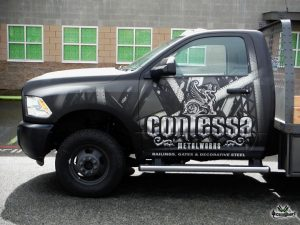 Contessa Metalworks Truck - by Wicked Wraps