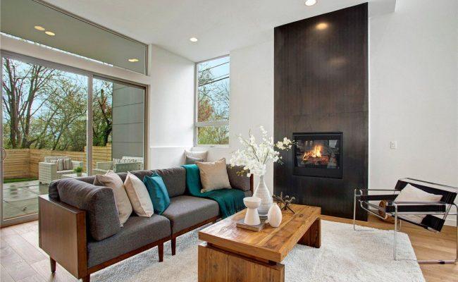 Steel Clad Fireplace 2
