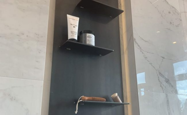 Steel Shower Soap Caddy